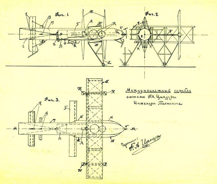Из рукописи Ф.А. Цандера
