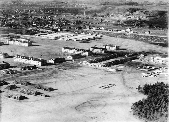 Кайзеровский аэродром в Вильне