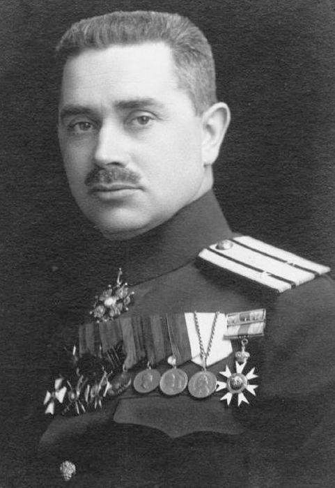 Капитан 2 ранга В.В. Дыбовский
