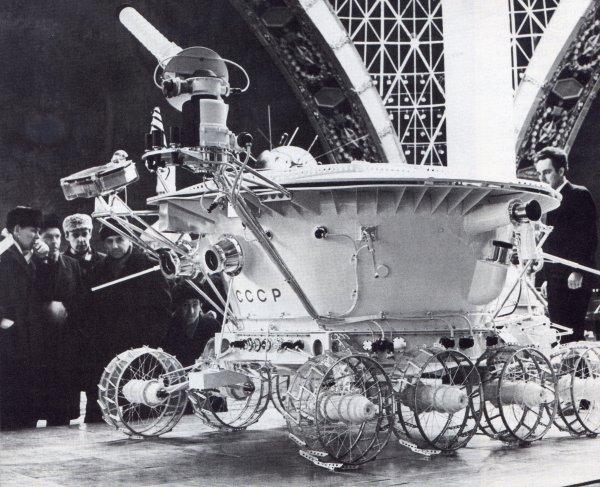 «Луноход-1» на выставке